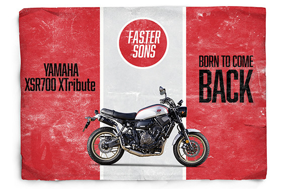 Yamaha XSR700 Tribute