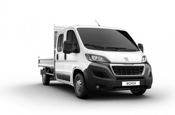 Peugeot Boxer Chassi DBL Cab