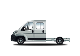 Peugeot Boxer Chassi DBL Cab 435